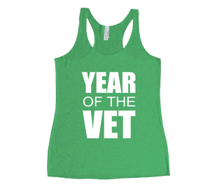 #YearOfTheVet Women's Tanks