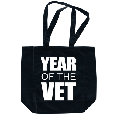 #YearOfTheVet Not-So-Duffle Bag (black)