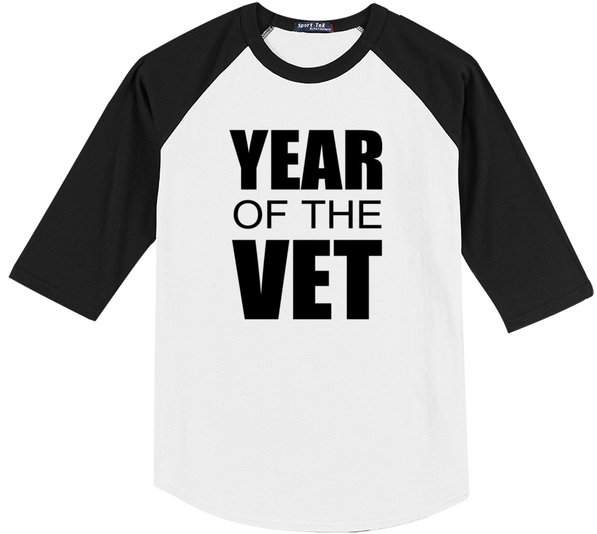 #YearOfTheVet Baseball-Tee