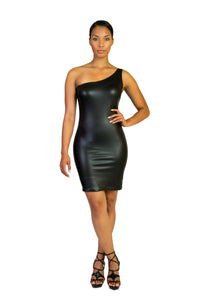 Assymetrical Mini Bodycon Dress