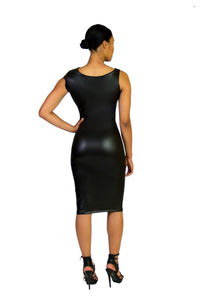 Assymetrical Cold Shoulder Bodycon Dress