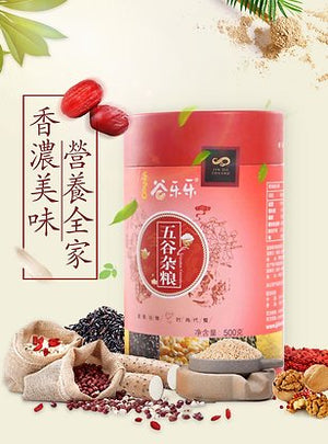 谷乐乐八珍粉(罐装)Assorted Grains Cereal Powder (500g)