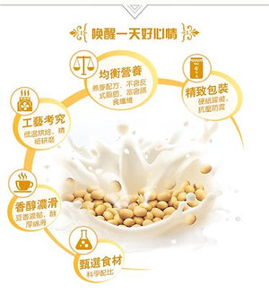 谷乐乐豆奶五谷粉(罐装)Multigrain Cereal Soy Milk Powder (500g)
