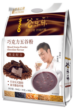 谷乐乐巧克力五谷粉(袋装)Multigrain Cereal Chocolate Powder (350g)