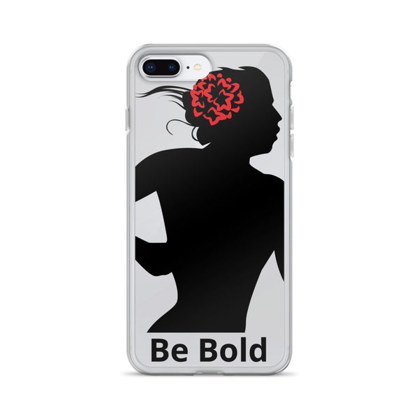 AM Be Bold iPhone Case