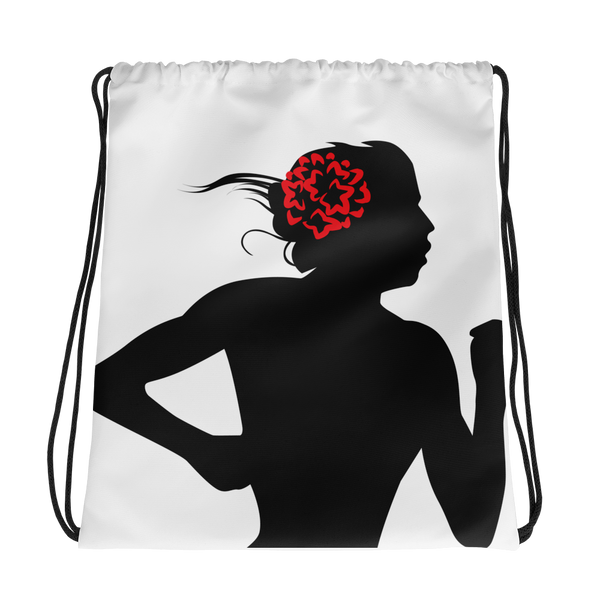 AM Drawstring Track Bag