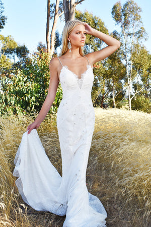 Rene atelier low back bridal gown