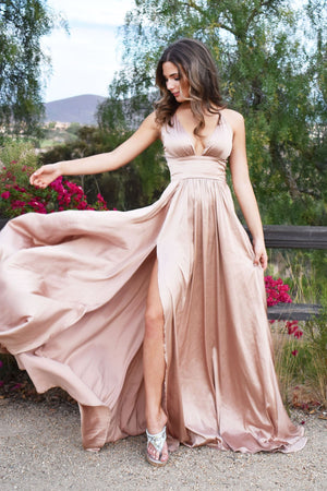 Madeline gown gold