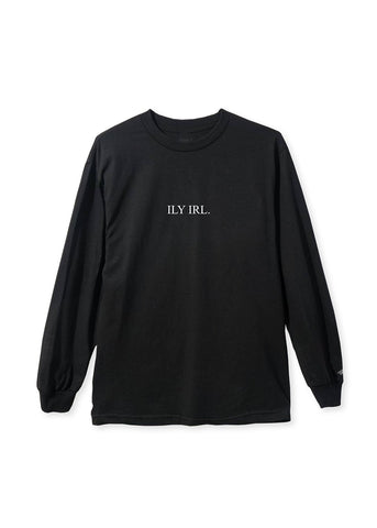 ILY IRL Long Sleeve (Black)