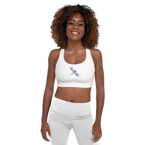 Dragonfly Padded Sports Bra