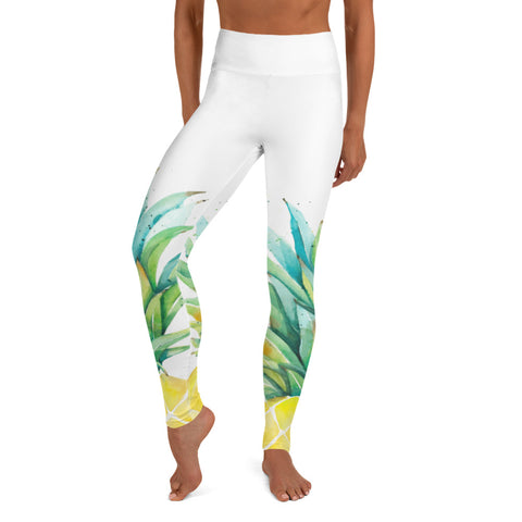 Pineapple II Yoga Leggings