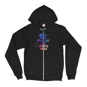 """May The Force Be With You"" Star Wars Hoodie Sweater"