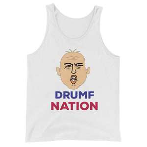 """Drumf Nation"" Political Parody Unisex Tank Top"