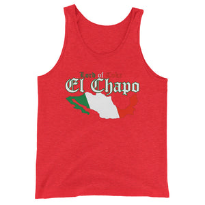 """Lord of Coke"" El Chapo Unisex Tank Top"