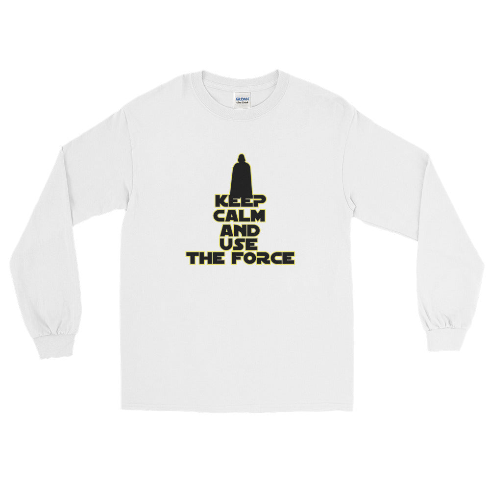 """Keep Calm And Use The Force"" Star Wars Long Sleeve T-Shirt"