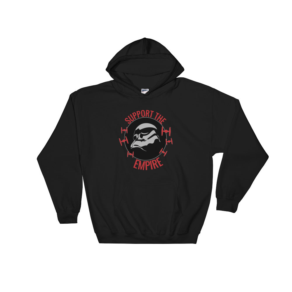 """Support The Empire"" Star Wars Hooded Sweatshirt"