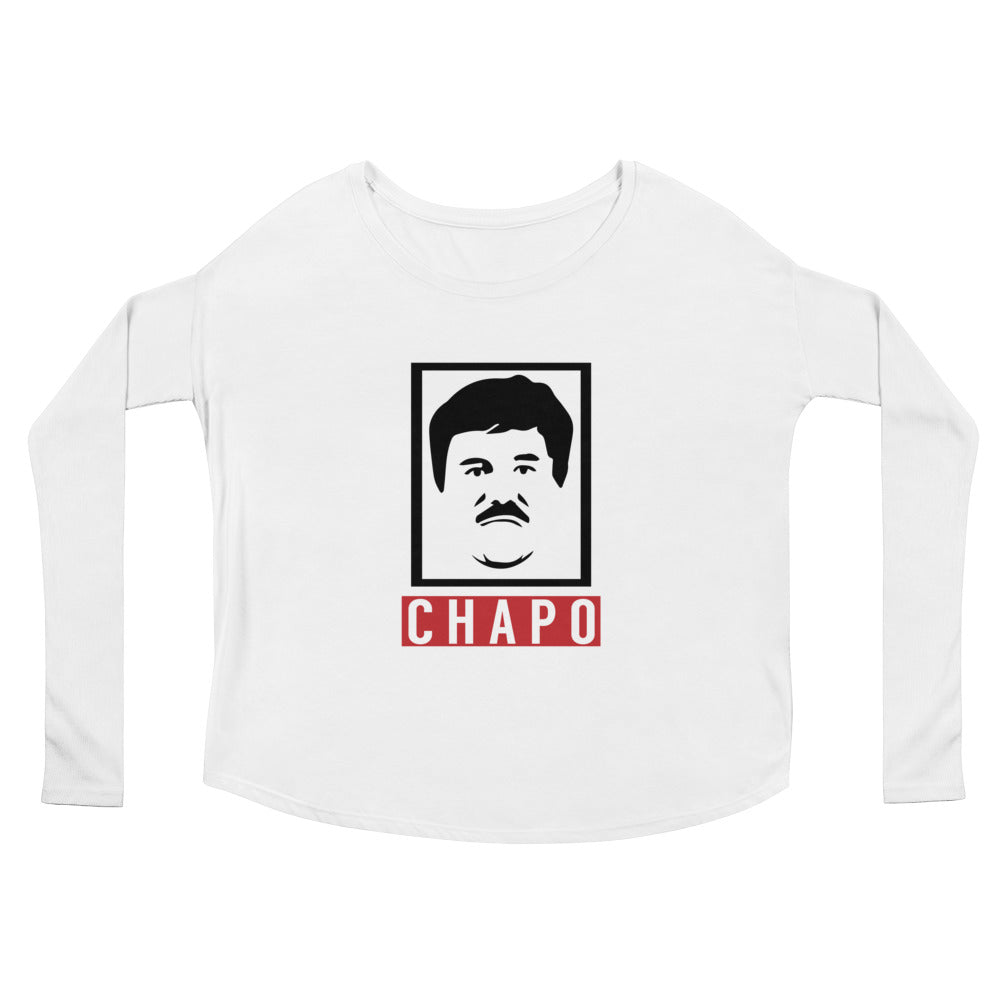 El Chapo Graphic Ladies' Long Sleeve Tee