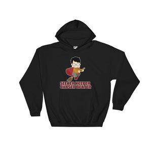 """Seeker Keeper Chaser Beater"" Harry Potter Hooded Sweatshirt"