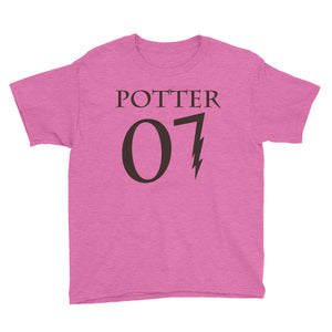 """Potter 07"" Harry Potter Youth Short Sleeve T-Shirt"