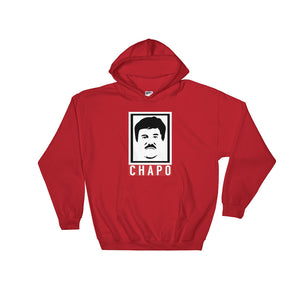 El Chapo Graphic Hooded Sweatshirt