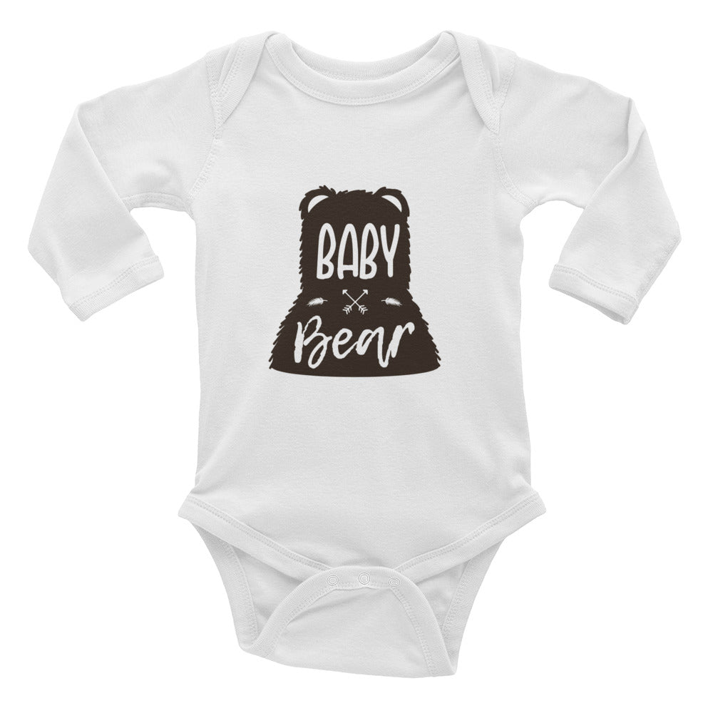 """Baby Bear"" Infant Long Sleeve Bodysuit"