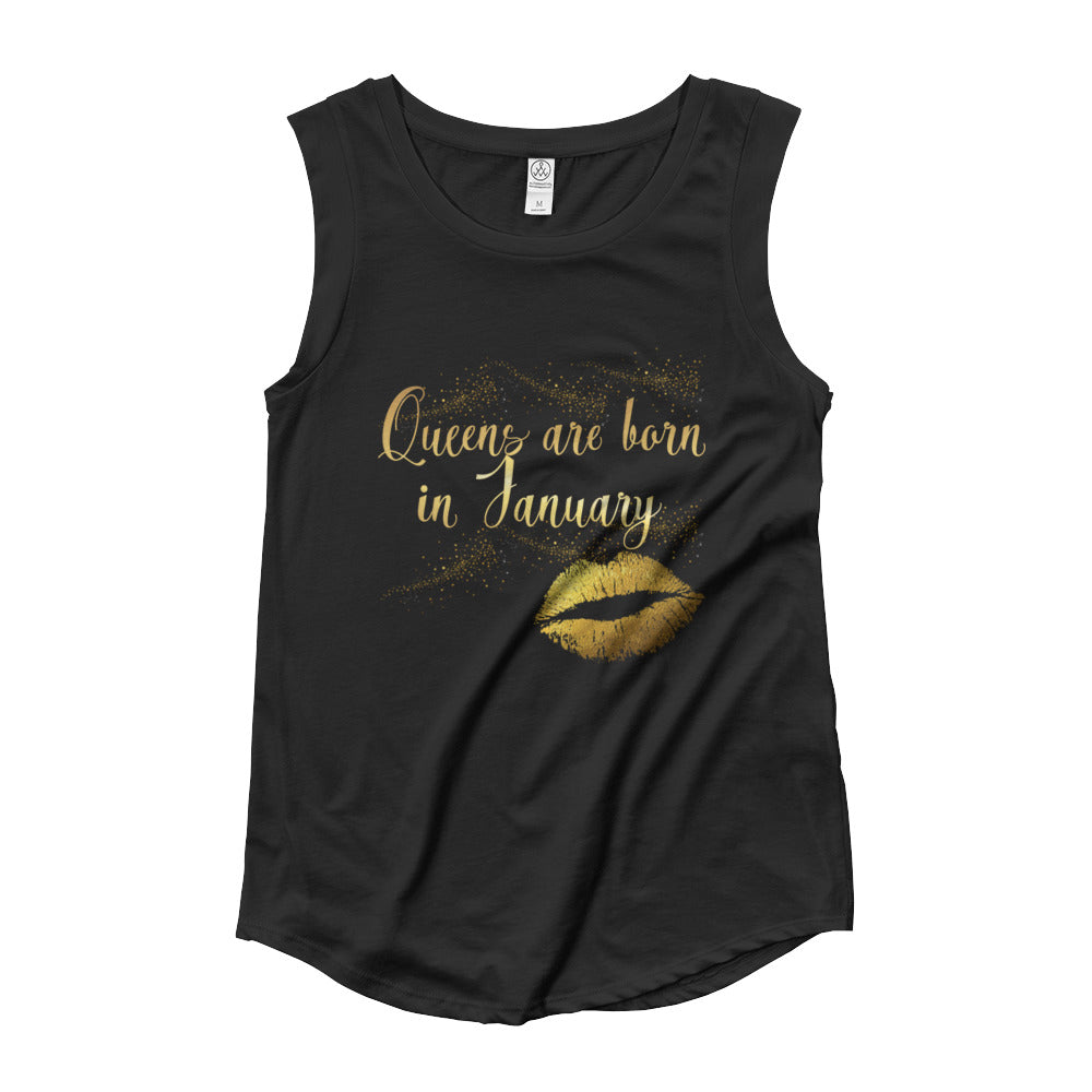 Ladies' Cap Sleeve T-Shirt