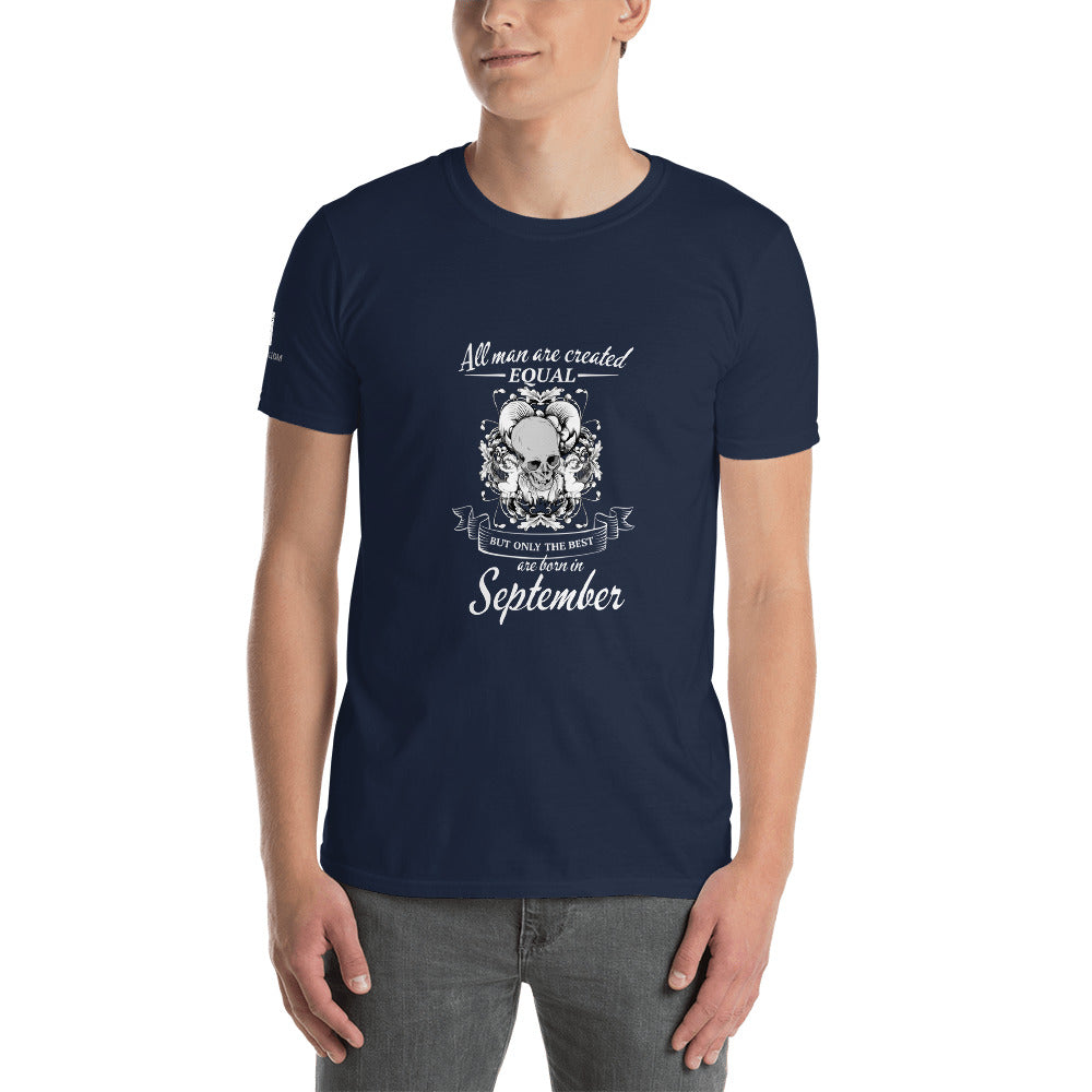 The Best Man are Born in September - T-Shirt