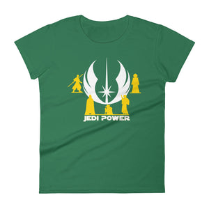 """Jedi Power"" Star Wars Women's Short Sleeve T-Shirt"