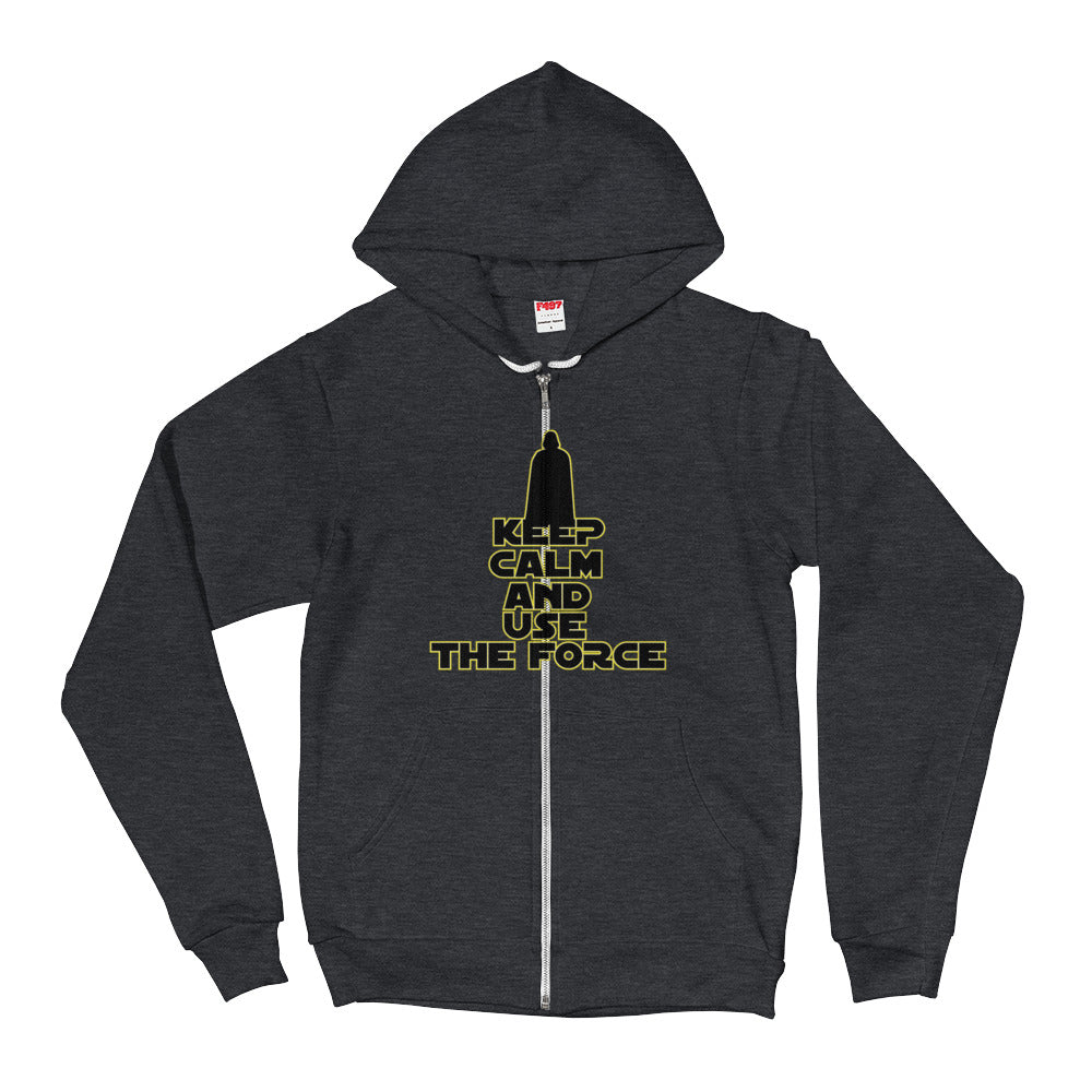 """Keep Calm And Use The Force"" Star Wars Hoodie Sweater"