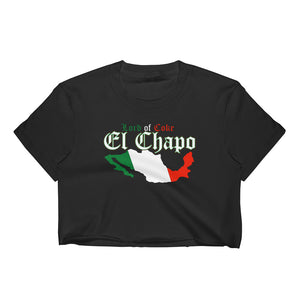 """Lord Of Coke"" El Chapo Women's Crop Top"