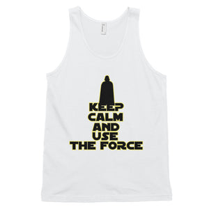 """Keep Calm And Use The Force"" Star Wars Classic Unisex Tank Top"