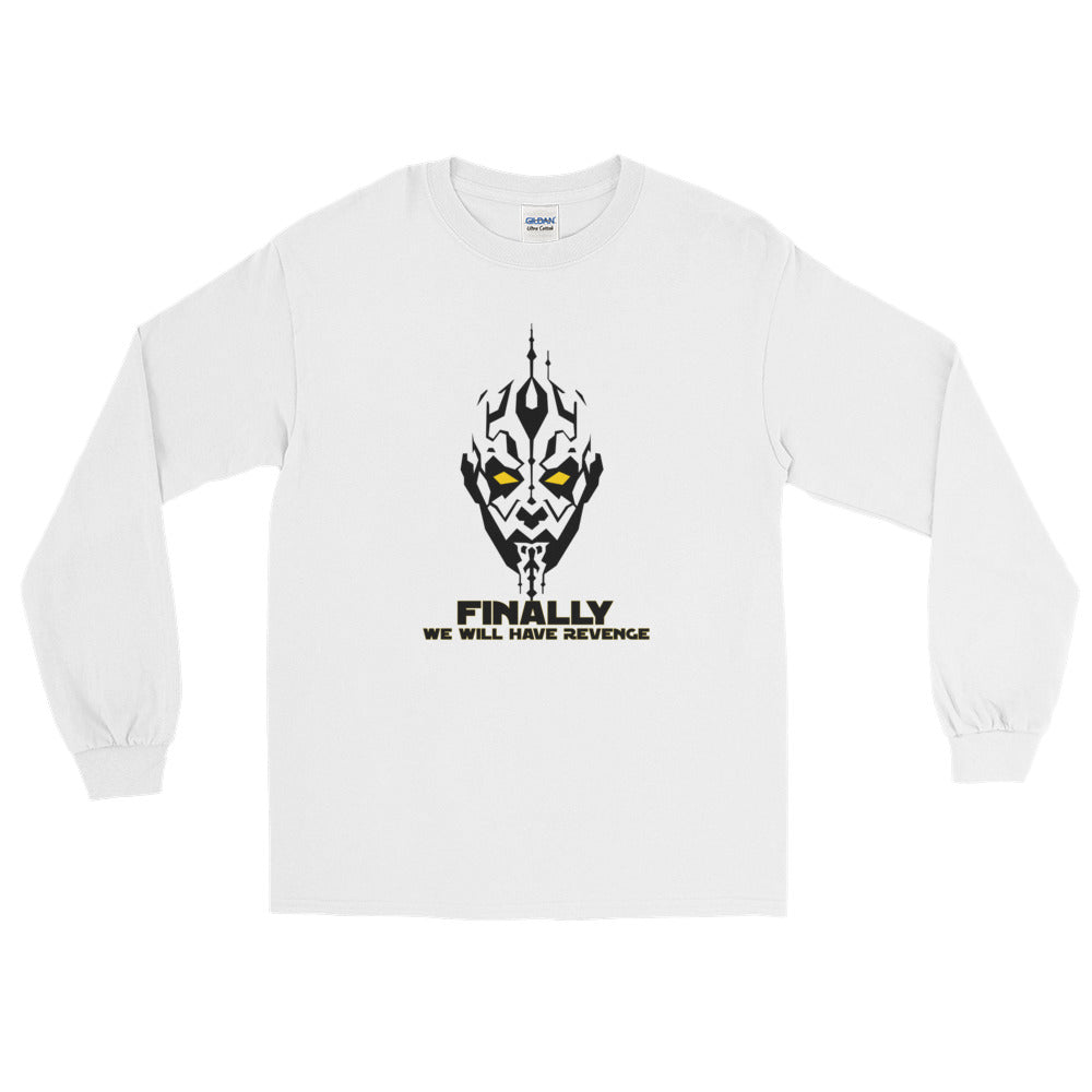 """Finally We Will Have Revenge"" Star Wars Long Sleeve T-Shirt"