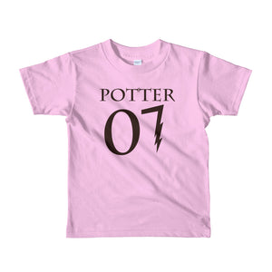 """Potter 07"" Harry Potter Short Sleeve Kids T-Shirt"