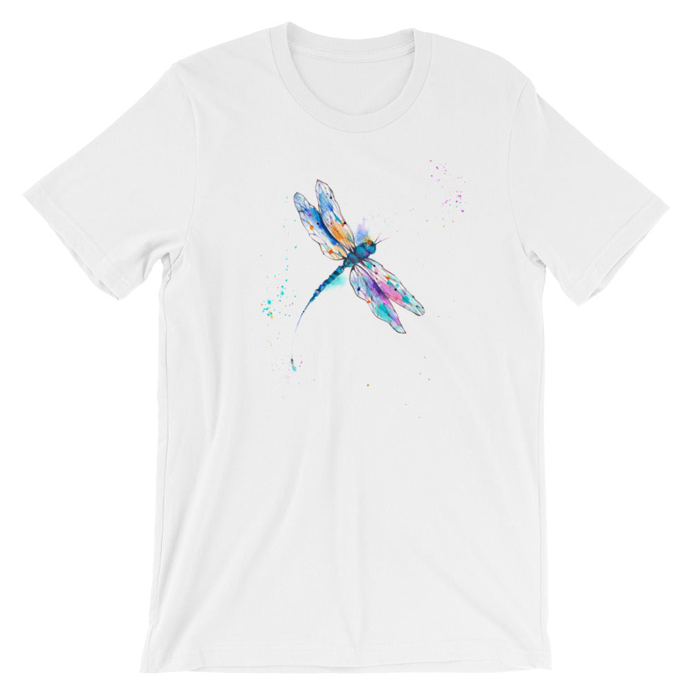 Watercolor Dragonfly II Short-Sleeve Unisex T-Shirt