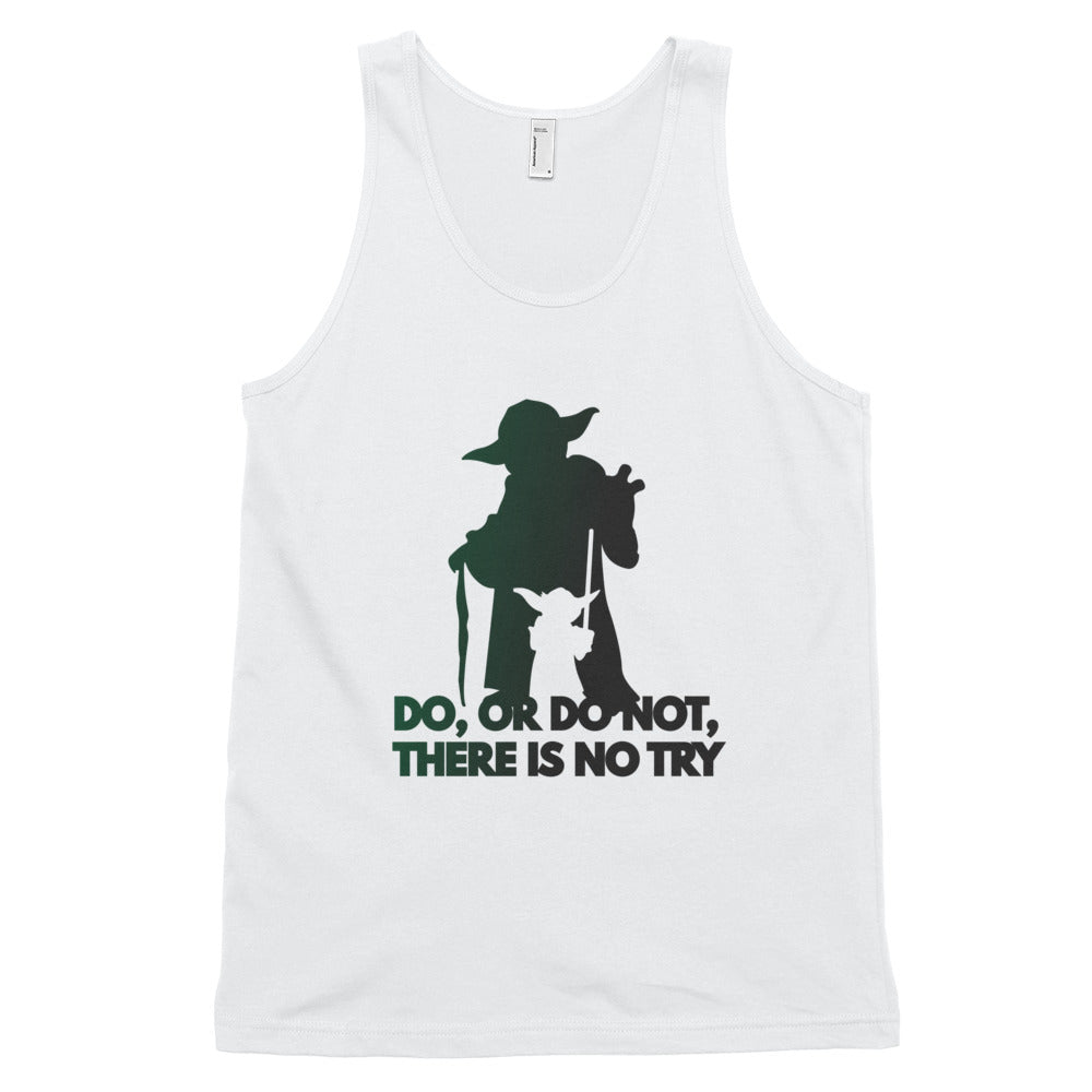 """Do Or Do Not, There Is No Try"" Star Wars Classic Unisex Tank Top"