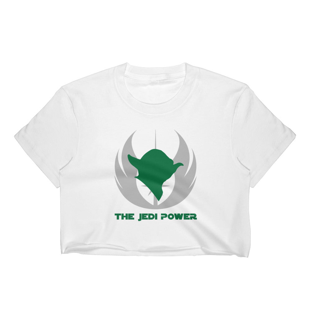 """The Jedi Power"" Star Wars Women's Crop Top"