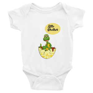 """Little Brother"" Infant Short Sleeve Bodysuit"
