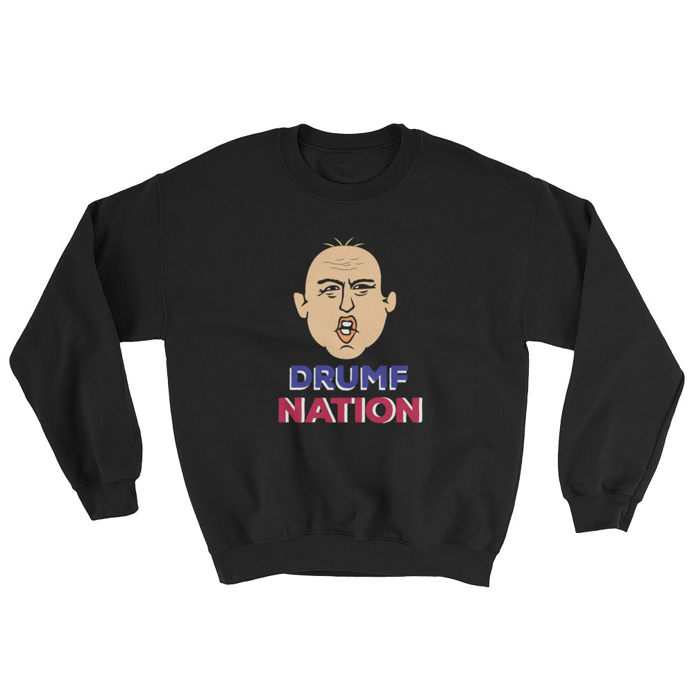 """Drumpf Nation"" Political Parody Unisex Sweatshirt"