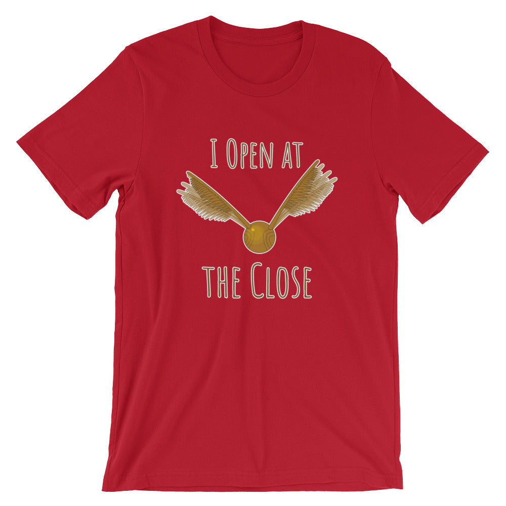 """I Open At The Close"" Harry Potter Short-Sleeve Unisex T-Shirt"