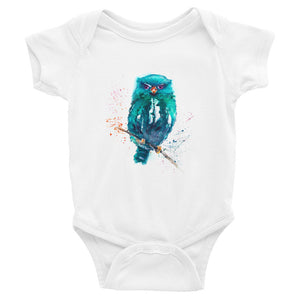 Watercolor Bird Infant Bodysuit