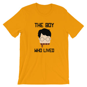 """The Boy Who Lived"" Harry Potter Short-Sleeve Unisex T-Shirt"
