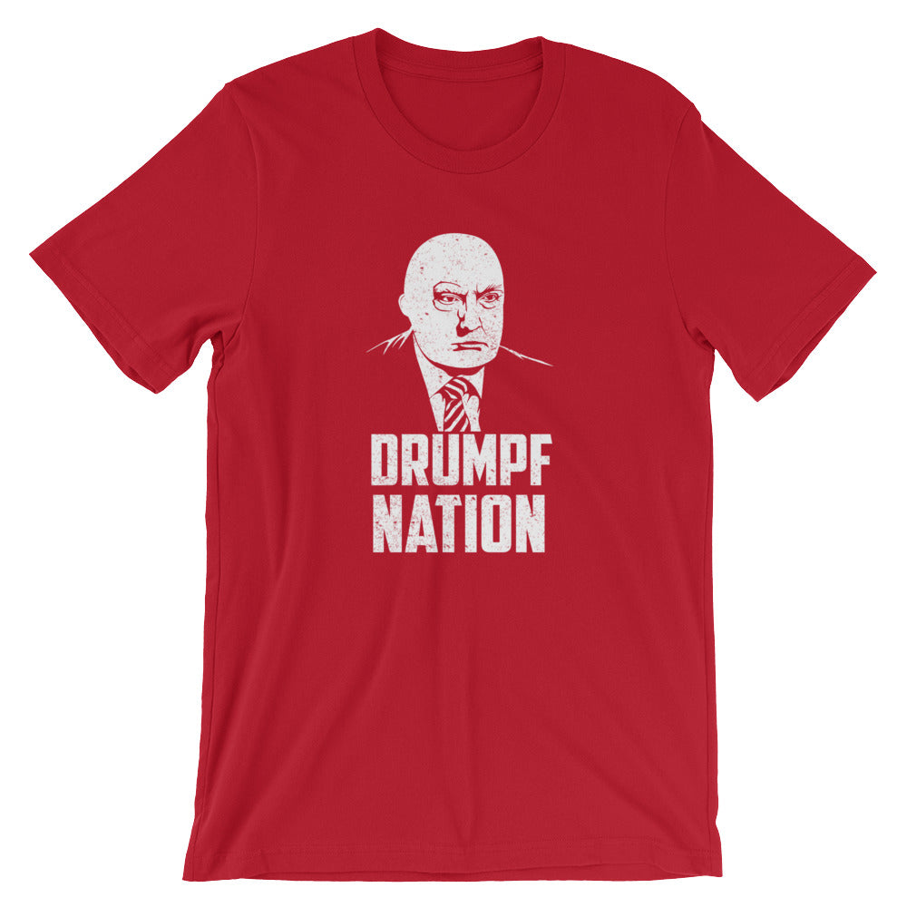 """Drumpf Nation"" Political Parody Short-Sleeve Unisex T-Shirt"