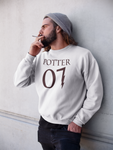"""Potter 07"" Harry Potter Long Sleeve Unisex T-Shirt"