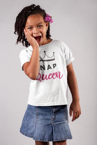 """Nap Queen"" Youth Short Sleeve T-Shirt"