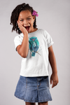 Watercolor Bird Youth Short Sleeve T-Shirt