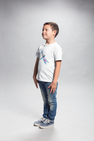 Watercolor Dragonfly II Youth Short Sleeve T-Shirt