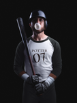 """Potter 07"" Harry Potter 3/4 Sleeve Raglan Shirt"