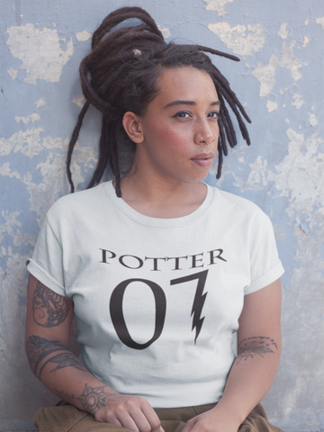 """Potter 07"" Harry Potter Women's Short Sleeve T-Shirt"