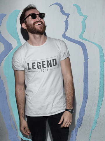 """Legend Daddy"" Short-Sleeve Unisex T-Shirt"