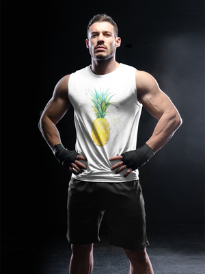 Watercolor Pineapple Unisex Tank Top
